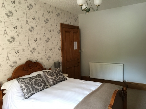 Double Room with shared shower room