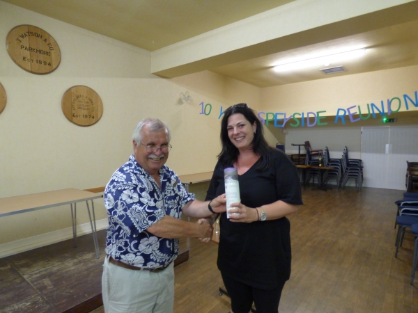 Independence Day Tasting 4 Jul 18 - Winner Sabina Pegle
