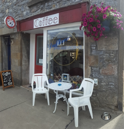 Dufftown Glassworks Shop Front