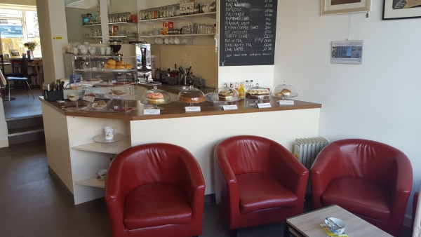 Dufftown Glassworks Coffee & Cake Counters