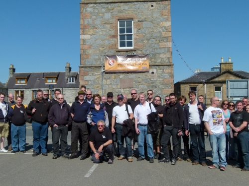 The Seven Stills Tour led by Gordon Haughton at the start!