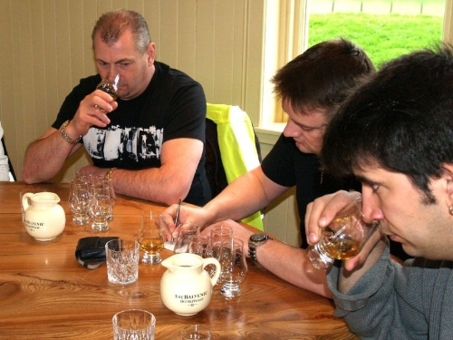 Nosing and Tasting at Balvenie