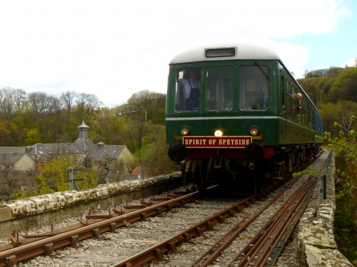 Parkmore Distillery and the Spirit of Speyside Train