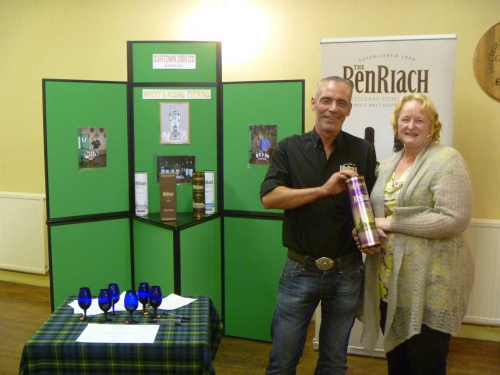Dorothy Dixon Wins the BenRiach Nosing