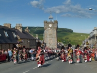 The Dufftown Pipe Band
