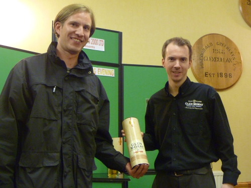 Daniel Vogler Wins Glen Moray Nosing