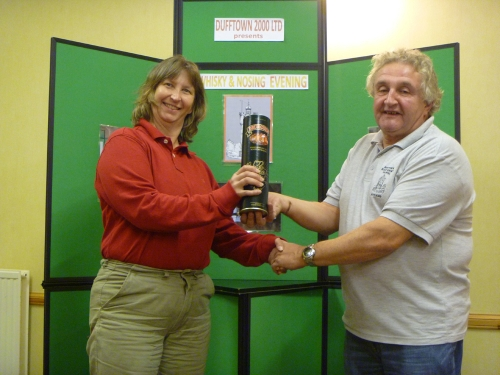 Susan Hopler Wins the Dufftown 2000 Nosing & Tasting