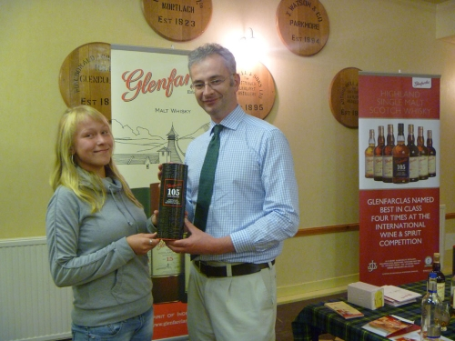 Glenfarclas Nosing Competiton Winner - Melanie Nowack from Germany