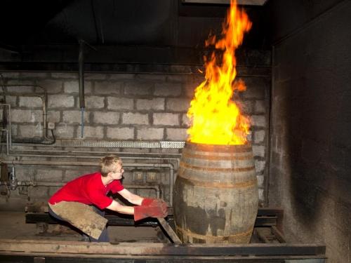 Firing the cask
