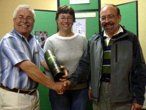 Dufftown 2000 Nosing Winners - Rocco Mancinelli & Lynn Rothschild
