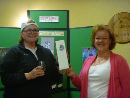 Adelphi Distillery Nosing Winner - Susan Standiford