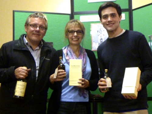 The Balvenie Nosing Winners - Petra Klingenberg & Connor Roberts