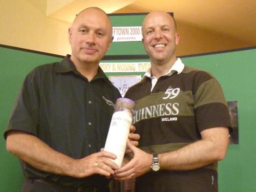 Tomintoul Distillery Nosing Winner - Gavin Hurst