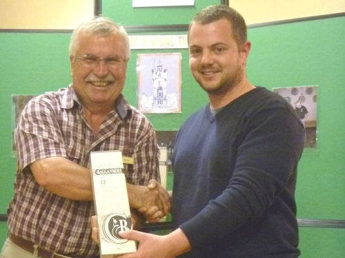 Cragganmore Distillery Nosing Winner - James Forsyth