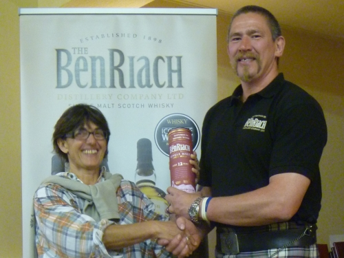 Sabine Bouman, Winner of the BenRiach Nosing competition