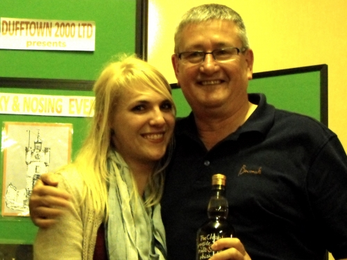 Lindy from Pretoria, winner of the Gordon & MacPhail Nosing Competition