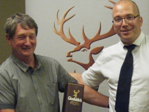 The GlenFiddich selection was presented by D Mac Taggert